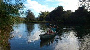 Family Fun on River
