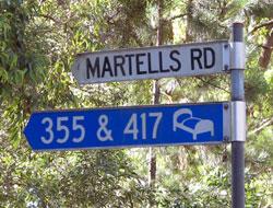 Bellingen Farmstay, Martells Road
