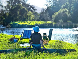 Picnic by the Kalang River at Bellingen Farmstay